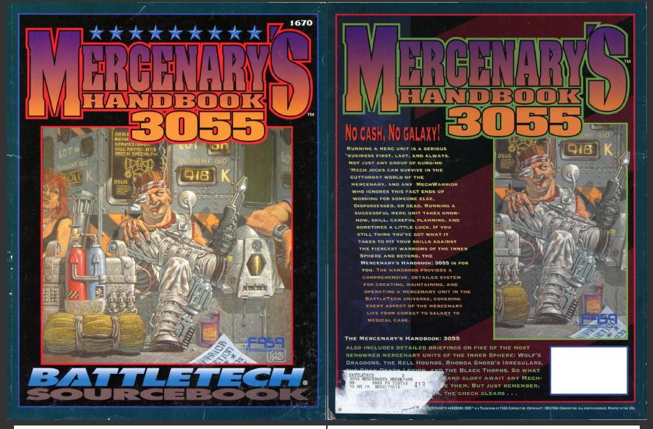 okładka Mercenaries 3055